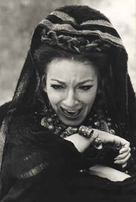 Maria Callas interpreta Medea nel film di Pierpaolo Pasolini