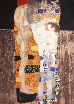 """""""Le tre età della donna"""", di Gustav Klimt"""