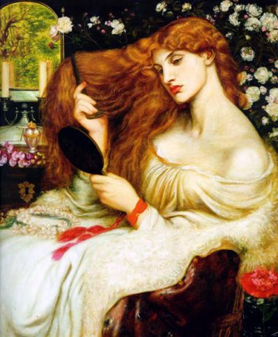 Lady Lilith di Dante Gabriel Rossetti